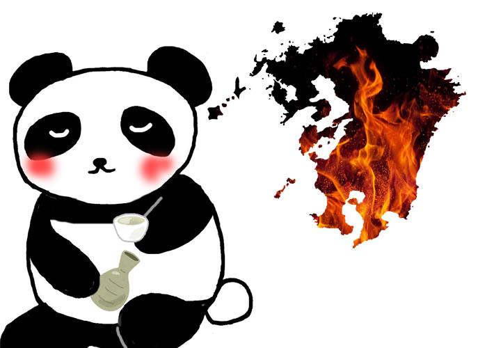 酔っ払いパンダと火の国九州