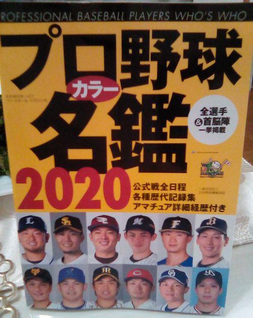 プロ野球名鑑2020